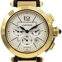 Cartier Pasha Chronograph 18K Solid Yellow Gold