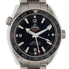 Omega Seamaster Planet Ocean GMT Stahl Automatik Co-Axial 44mm