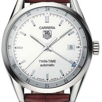 TAG Heuer Carrera Calibre 7 Twin-Time Automatik 39mm WV2116.FC...