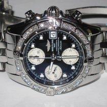 Breitling Chrono Cockpit Chronograph Diamonds