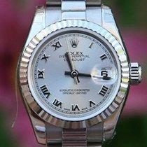 Rolex Ladies President 26mm 18k White Gold Roman 179179 Like