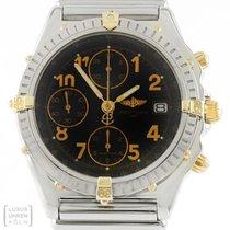 Breitling Uhr Vitesse Chronomat Stahl/Gold Relauxband Ref. B13050