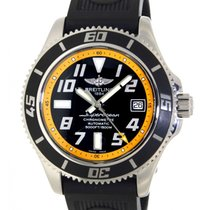 Breitling Superocean Abyss Yellow A17364 Steel, 42mm