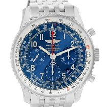 Breitling Navitimer 01 Blue Dial Limited Edition Watch Ab0121...