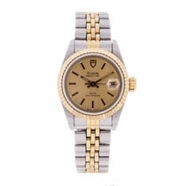 Tudor Princess Date Ladies Watch 92413 (Pre-Owned)