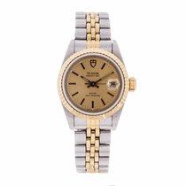 Tudor Princess Date Ladies Watch 92413 (Pre-Owned)
