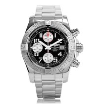 Breitling Avenger II Stainless Steel Automatic Mens Watch...