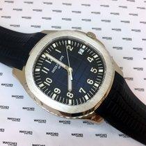Patek Philippe Aquanaut White Gold Blue Dial 20th anniversary...