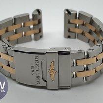 Breitling Pilot Rose Gold and Steel Chronomat B01 41mm