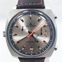 Dugena Chronomatic Heuer Breitling Automatic Chronograph cal. 15