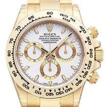 Rolex Cosmograph Daytona 18 kt Gelbgold 116508 Weiß Index