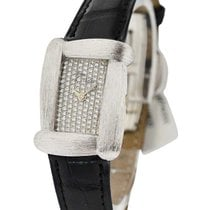 Henry Dunay sabi_strap_pave Sabi in White Gold Brushed Case -...