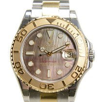 勞力士 (Rolex) Yacht Master Gold And Steel Black Automatic...