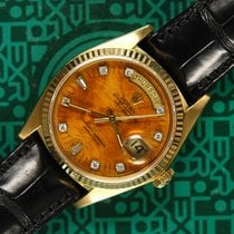 Rolex Day-Date 18038 birch wood diamonds box 1978