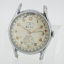 Election Grand Prix Vintage Swiss Watch Triple Calendar Cal....