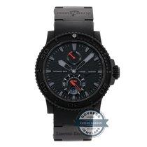 "Ulysse Nardin Marine Diver Chronometer ""Black Ocean""..."