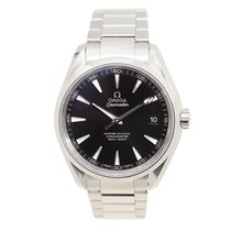 Omega Seamaster Stainless Steel Black Automatic 231.10.42.21.0...