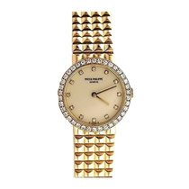 Patek Philippe 4746/001 Ladies in Yellow Gold with Diamond and...