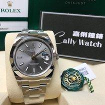 Rolex Cally - {2017 New} Datejust 41mm 126300 dark rhodium dial