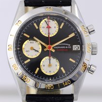 Eberhard & Co. Champion Chronograph Date Black Lemania...