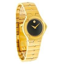 Movado S.E. Sports Edition Ladies Gold Tone Swiss Quartz Watch...