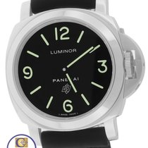 Panerai PAM 000 N Luminor Base Logo Black Automatic 44mm Watch
