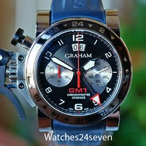 Graham Chronofighter Oversize Auto GMT Chronograph Date  LTD