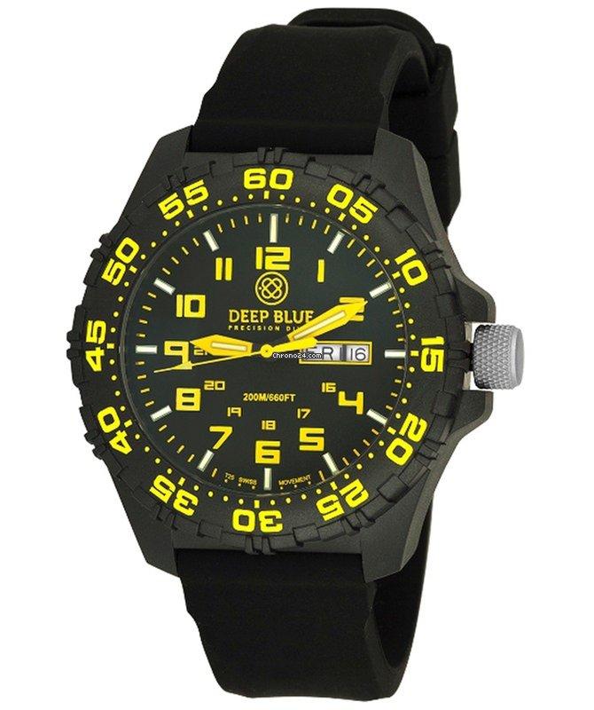 2ee77bdd4ea Deep Blue Daynight Diver Tritium Watch Swiss Movt. 200m Wr... por R  1.203  para vender por um Trusted Seller na Chrono24