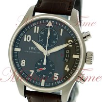 IWC Pilot's Spitfire Chronograph, Grey Dial - Stainless...