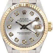 ロレックス (Rolex) Women's Datejust Two Tone Fluted Custom...