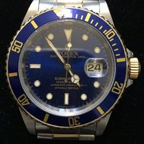 Rolex Submariner Steel/Gold Blue Dial Ref.16613