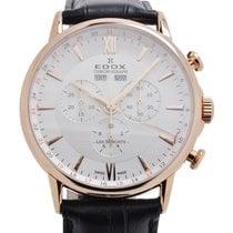 Edox Les Bémonts Chronograph Complication Watch 10501 37R AIR