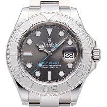 Rolex Yacht-Master Edelstahl / Platin 40 Ref. 116622 Rhodium
