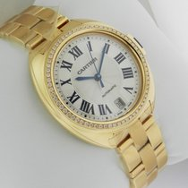 Cartier Cle De Cartier Automatic WJCL0023 Yellow Gold Braclet NEW
