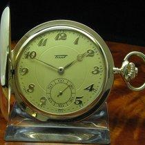 Tissot 14kt 585 Gold Savonette Sprungdeckel Taschenuhr Von Ca....