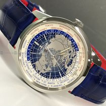 Jaeger-LeCoultre - Universal Time Q8108420 Blue Dial Steel