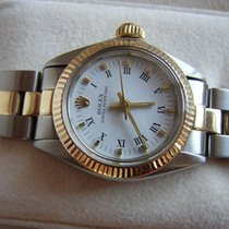 Rolex Oyster Perpetual 18K & Stainless Steel Two Tone 6719...