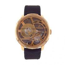 Hautlence HLC-06 18k Rose Gold Manual Wind Men's Watch...