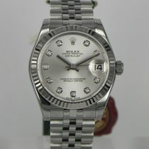 Rolex DATEJUST 31MM SILVER DIAMOND DIAL