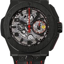 Hublot Big Bang Ferrari All Black Limited Edition 45.5mm Cer