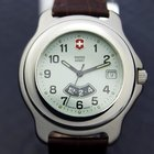 Victorinox Swiss Army Mens Casual Stainless Steel Swiss Made...