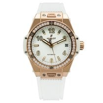 Hublot Big Bang One Click King Gold Diamonds 39mm White