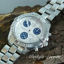 Breitling Colt Chronograph A73350 mit Stahlband / Papiere -  2005