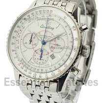 Breitling a41330 Montbrillant Chronograph in Steel - on Steel...