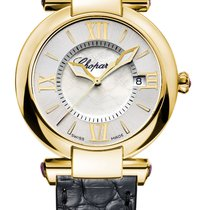 Chopard Imperiale 18K Yellow Gold & Amethysts Ladies Watch
