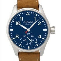 Alpina Startimer Pilot Big Date Quartz Men's Watch – AL-280N4S6