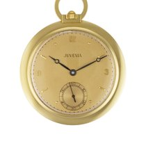 Juvenia pocket watch 18k White dial mm Manual watch