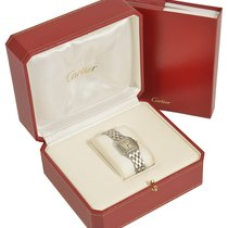Cartier Panthere stainless steel ladies wristwatch