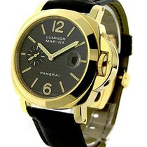 Panerai PAM00140 PAM 140 - Luminor Marina Automatic in Yellow...