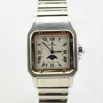 Cartier Santos Monn Phase Date